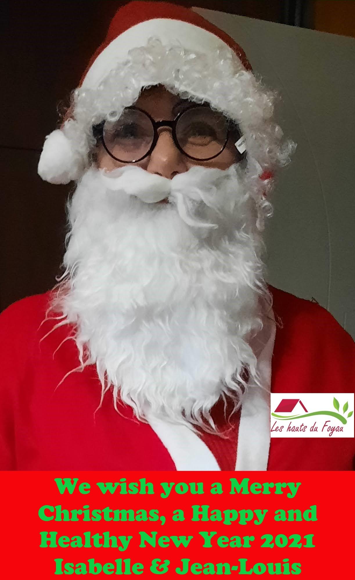 Joyeux Noël et Bonne Année 2021 - Merry Christmas and Happy New Year 2021